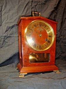 Vintage WUBA Warmink 8 Day Pendulum Mantle Clock