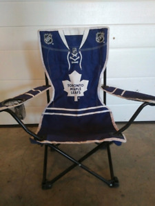 Toddler Toronto Maple Leaf fold up chair