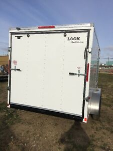 "2017 Look 7x14 ST Enclosed trailer + 6"" Height Edmonton Edmonton Area image 3"