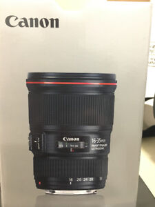 Lens – Canon EF 16-35mm f/4L IS USM Lens FOR SALE