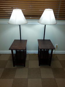 Side Tables With Lights