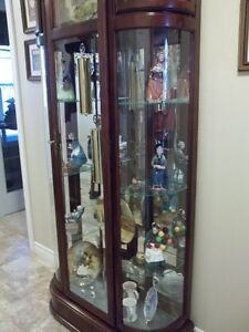Ridgeway Curio Grandfather Clock Cambridge Kitchener Area image 2