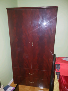 Brown Armoire $50 OBO