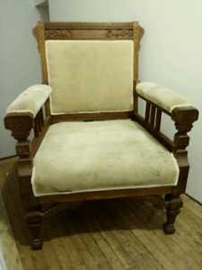 Grand Old Antique Chair