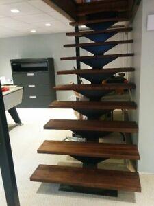 Escaliers en acier de tout genres