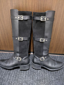 Cole Haan Women's Leather/Suede Knee High Boots (8 1/2 B)