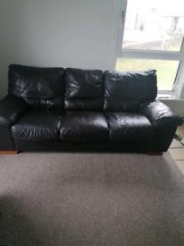 Brown leather sofa FREE FREE
