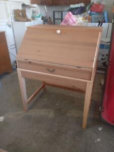Wooden Cabinet Desk