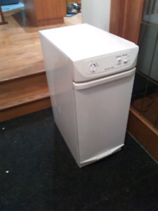 White kitchenaid garbage compactor