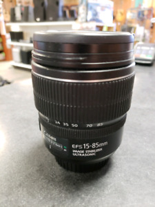 Canon EFS 15-85mm IS U Macro Lens