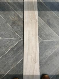 New Porcelain Tiles. Wood effect.