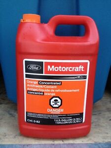 Coolant for Ford Focus from Ford dealership