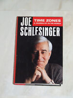 Time Zones by Joe Schlesinger, world news reporter with CBC