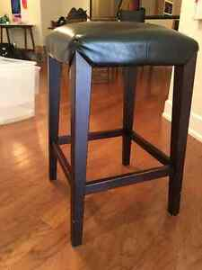 5 Bar Stools Counter Height; $60 each or $275 for all 5