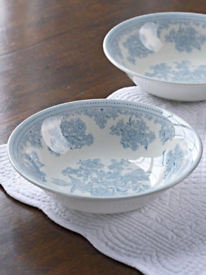 SPODE Asiatic Pheasants Pudding Dishes - TWO
