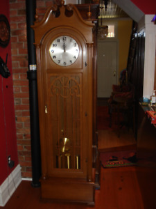 Grandfather Clock-German Movement, Excellent Working Condition