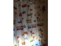 Matching Curtains & Todler Bedcover