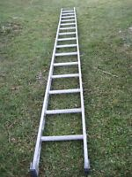 15 or 16 foot straight ladder