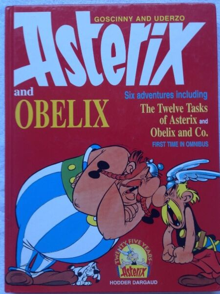 Asterix and Obelix - Omnibus - Six adventures including The Twelve Tasks of Asterix