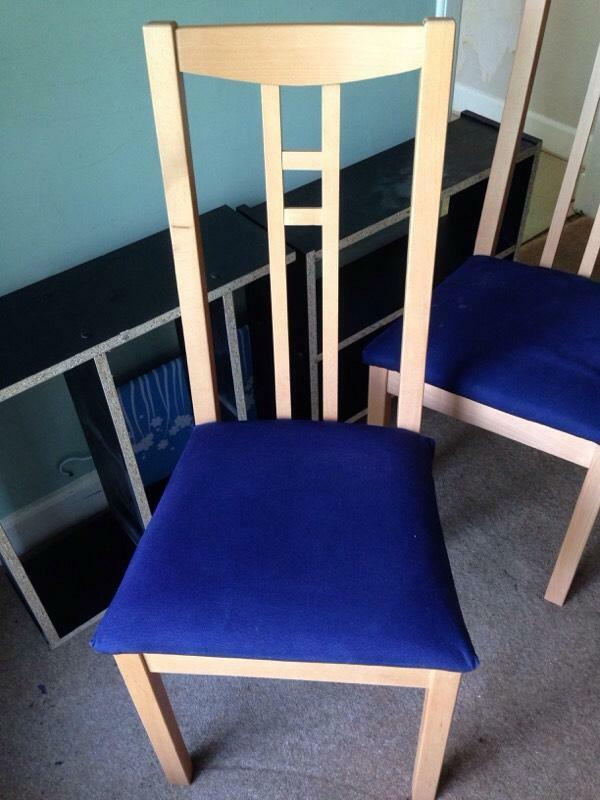dining chairs rennie mackintosh style in southside glasgow