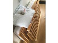 Cot/cot bed for sale.