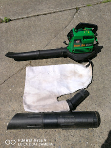Weed Eater gas blower whole set works very well for$80