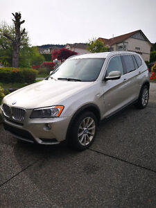 2011 BMW X3 35i Dealership extended warranty to Sep. 2017