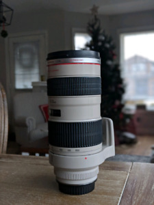 CANON 70-200 F2.8 L - Excellent Condition