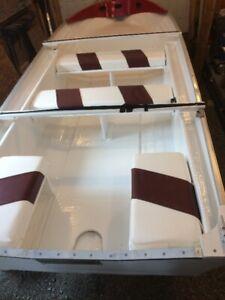 14Ft Lavariee Fiberglass Boat and Trailer