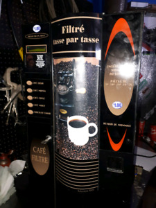 Distributrice a cafe