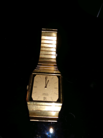Original vintage classic gold Seiko men's watch