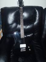 Electric Guitar and Effects Pedal