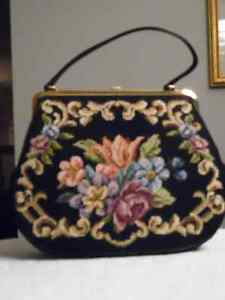 NEEDLEPOINT HANDBAG