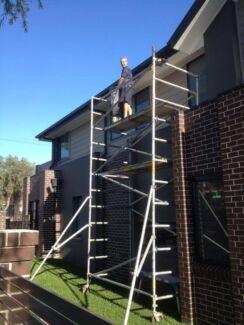 Aluminium scaffolding hire sydney