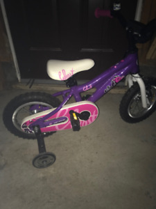 Girls toddler training bike for 3 to 5 years old.