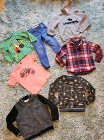 Big bundle of boys clothes age 4 5