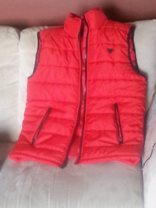 Guess puffer vest- new without tags