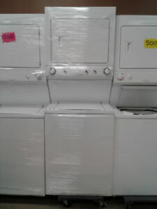 "27"" FRIGIDAIRE LAUNDRY CENTRE NEW MODEL  STAINESS S INSIDE"