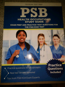 PBS health Occupantions Study Guide Textbook