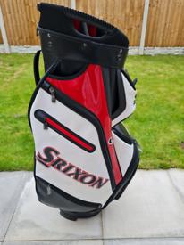 Srixon golf cart bag.