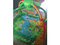 Fisher price rainforest play mat