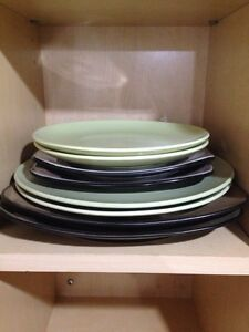 His and hers dinner and salad plates  Peterborough Peterborough Area image 1