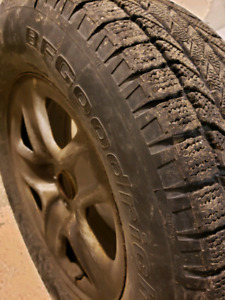 Toyota winter tire and rim package