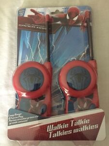 Spider-Man Walkie Talkies Cambridge Kitchener Area image 1