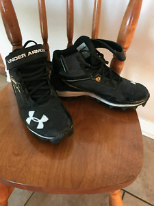 Under Armour youth football cleats