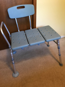 Shower Transfer Bench | Local Health & Special Needs Items