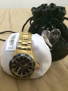 Guess Watch Gold-Tone Sportwise