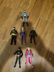 DC Action Figures 1990s and 1980s