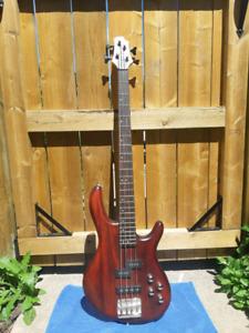 Mahogany Bass Guitar