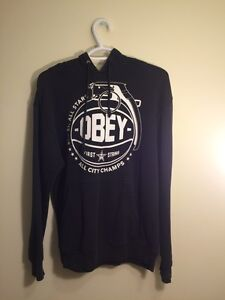 Used obey sweater